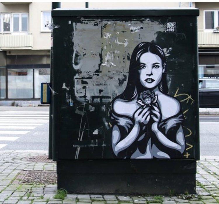 Listen to the quiet voice  #StreetArt in #Norway  by Ener Konings <br>http://pic.twitter.com/r6ktmWJIO7