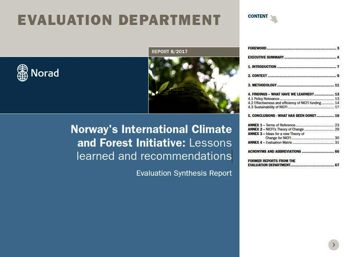 #Norway&#39;s  International Climate and Forest Initiative: Lessons learned and recommendations via @noradno  https:// norad.no/contentassets/ 0a94d37d6a614b44a5e91f15223a8b67/8.17-nicfi_lessons-learned-and-recommendations.-evaluation-synthesis-report..pdf &nbsp; … <br>http://pic.twitter.com/zBlvSDERex