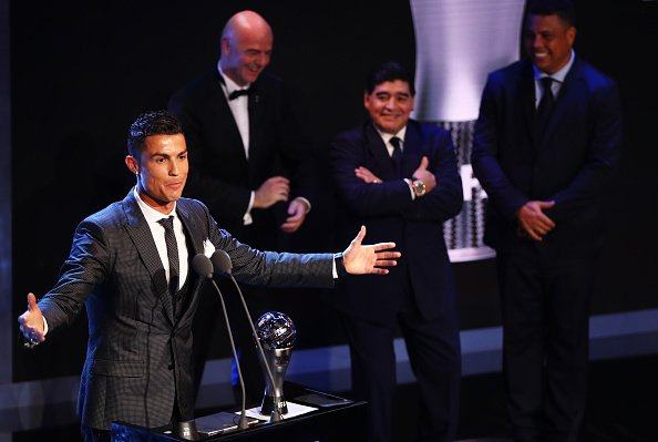 Ronaldo & Zidane were awarded the Best FIFA Men's Player and Men's Coach respectively, with Ronaldo named The Best for the second successive year.