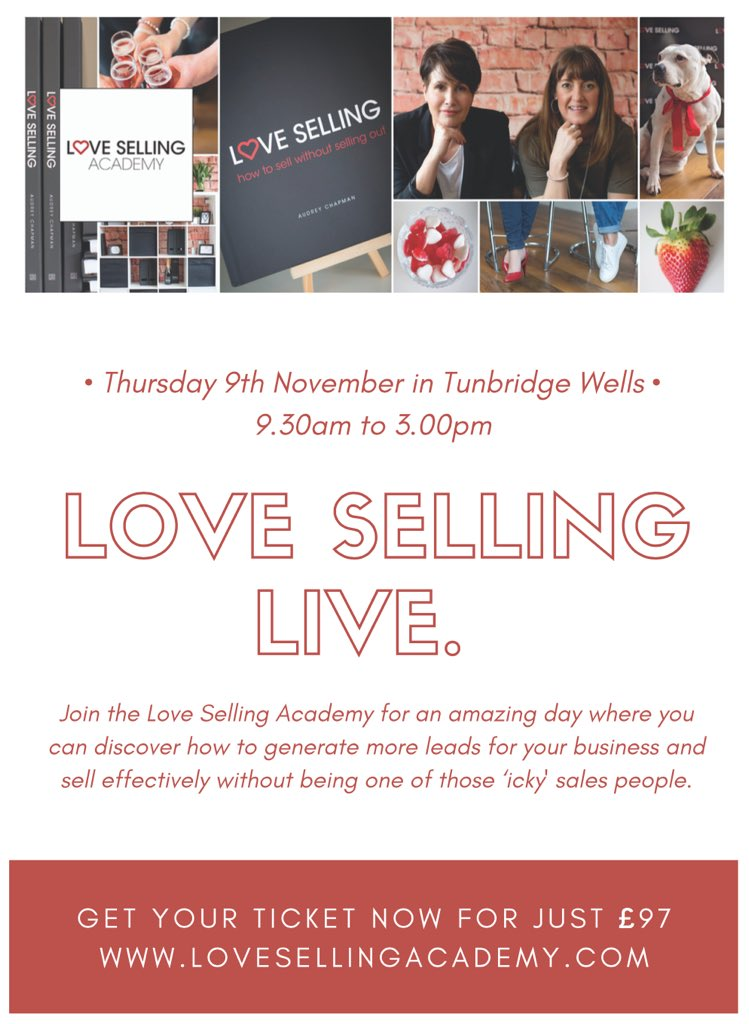 #BBunker @vanillaweb Only 8 places left LOVE SELLING LIVE - 9 Nov #tunwells Get your ticket now  http:// bit.ly/LSLticket  &nbsp;   #sales #marketing<br>http://pic.twitter.com/38ELP7pqR5