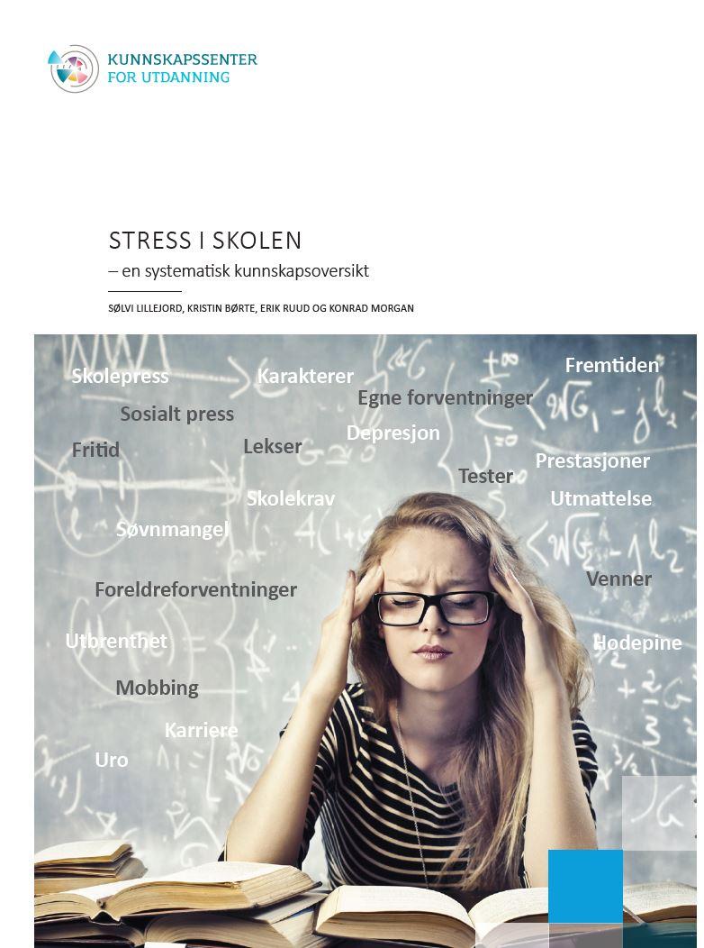 stress i skolen