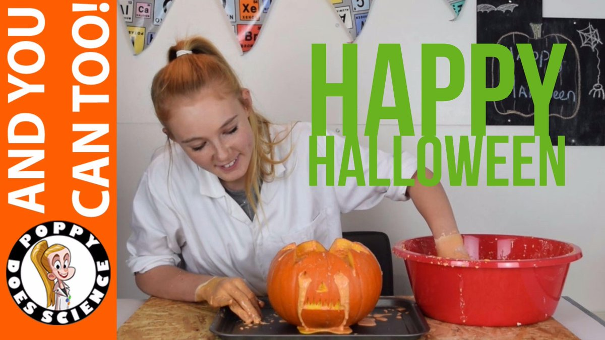Why not try these #Halloween experiments this #halfterm  https:// youtu.be/IovDiPo844U  &nbsp;   #science #stem #scicomm #funscience #HappyHalloween<br>http://pic.twitter.com/90OfRv0XDj