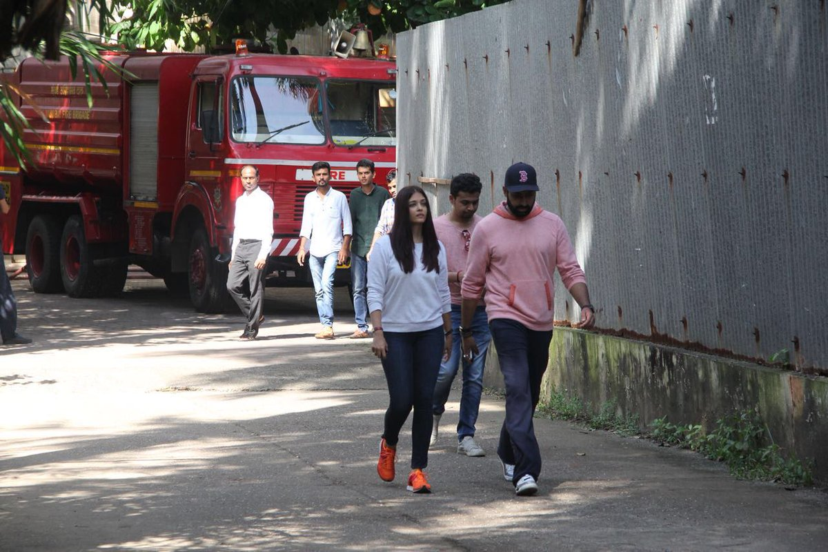 Massive fire breaks out at Aishwarya Rai residence
