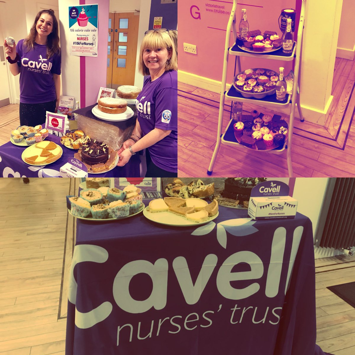 We're selling 10k calories (maybe a few more!) at Cavell HQ for  #10kForNurses. You can support nurses 2 by donating ...