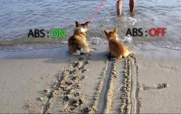 A perfect example on how to explain ABS! #theorytest #learnerdrivers #learners #DVLA #DVSA #Motov8 #Drivingschool #Cardiff #Newport<br>http://pic.twitter.com/OQIFBdYETr