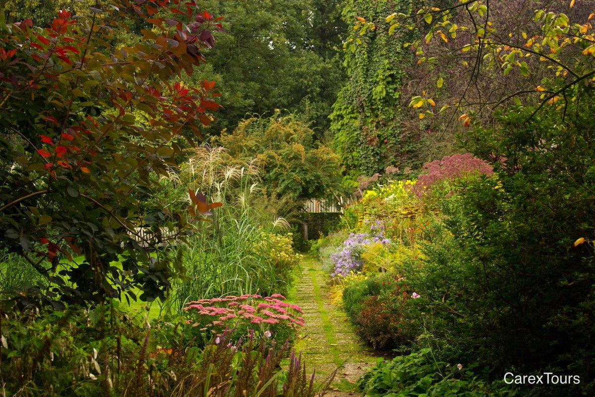carolyn mullet on twitter autumn perennialborder mienruys garden dutch 20thcentury gardendesign carextours httpstcohgos7olamv