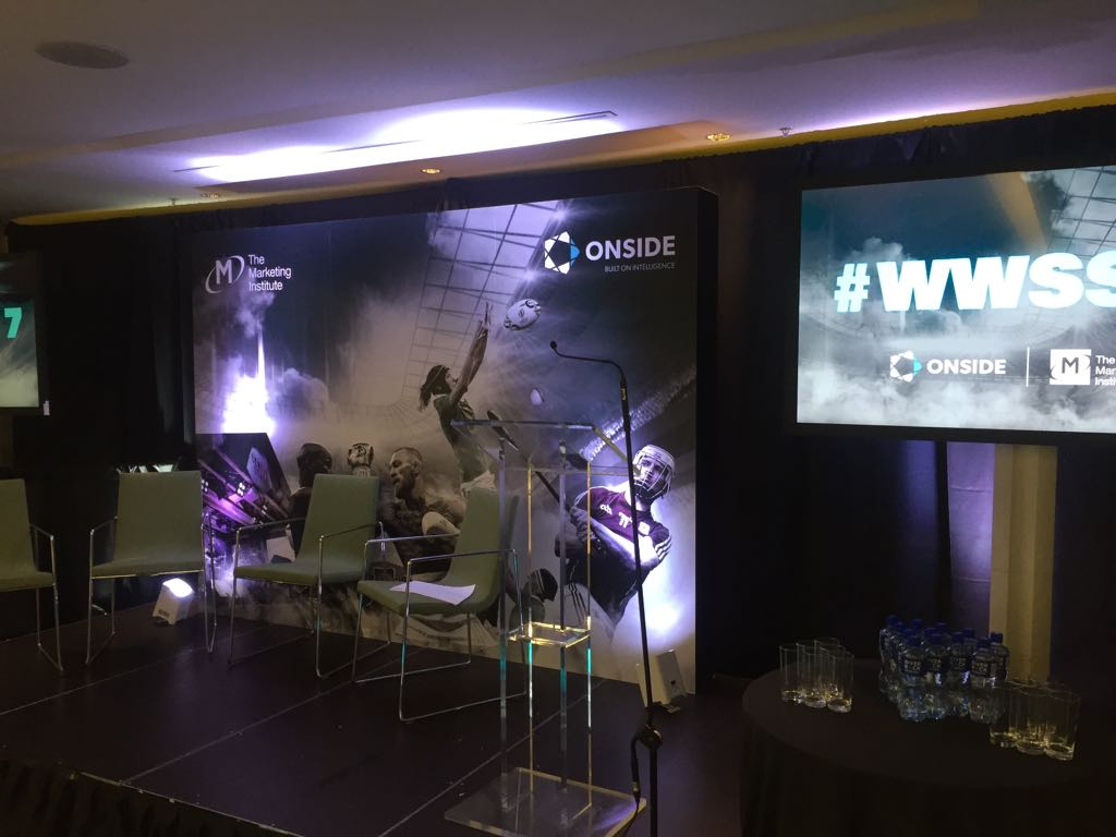 We&#39;ve had a great morning working with @Onside_Spons and @IrishMarketers in the @AVIVAStadium #wwss17 #eventprofs <br>http://pic.twitter.com/jHrTSEjI7t