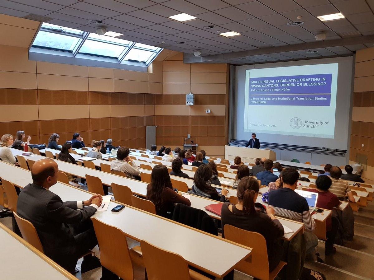 We&#39;re very glad to host Prof. Felix Uhlmann from @uzh_news_en for this very interesting #TransiusTalk on #multilingual legislative drafting! <br>http://pic.twitter.com/RjP80R9UiB