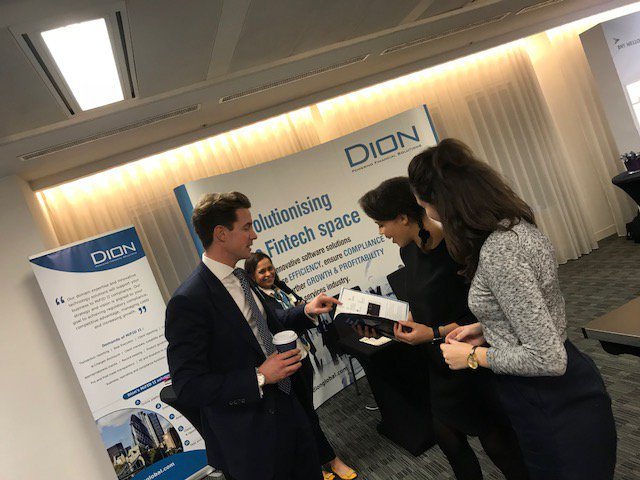 Our team at @PIMFA_UK #MiFIDII #conference. Stop by our Booth &amp; hear about key actions on MiFIDII #costs &amp; #charges requirements. #regtech<br>http://pic.twitter.com/6ubc41pTzK