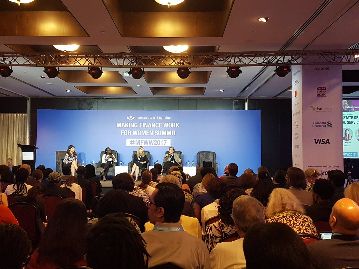 Empower women and you&#39;ve empowered a nation. The #mfww2017 ongoing today #Gender #FinancialInclusion <br>http://pic.twitter.com/c6FpEUwSmc
