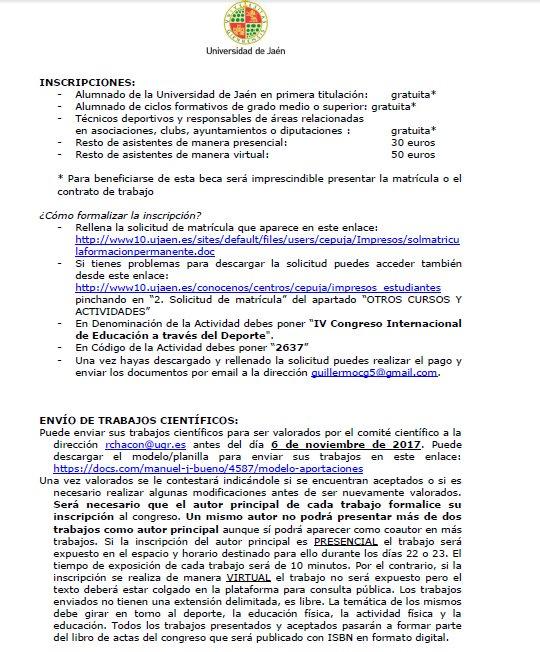 Grupo Edaf على تويتر Programa Inscripciones Y Envío De
