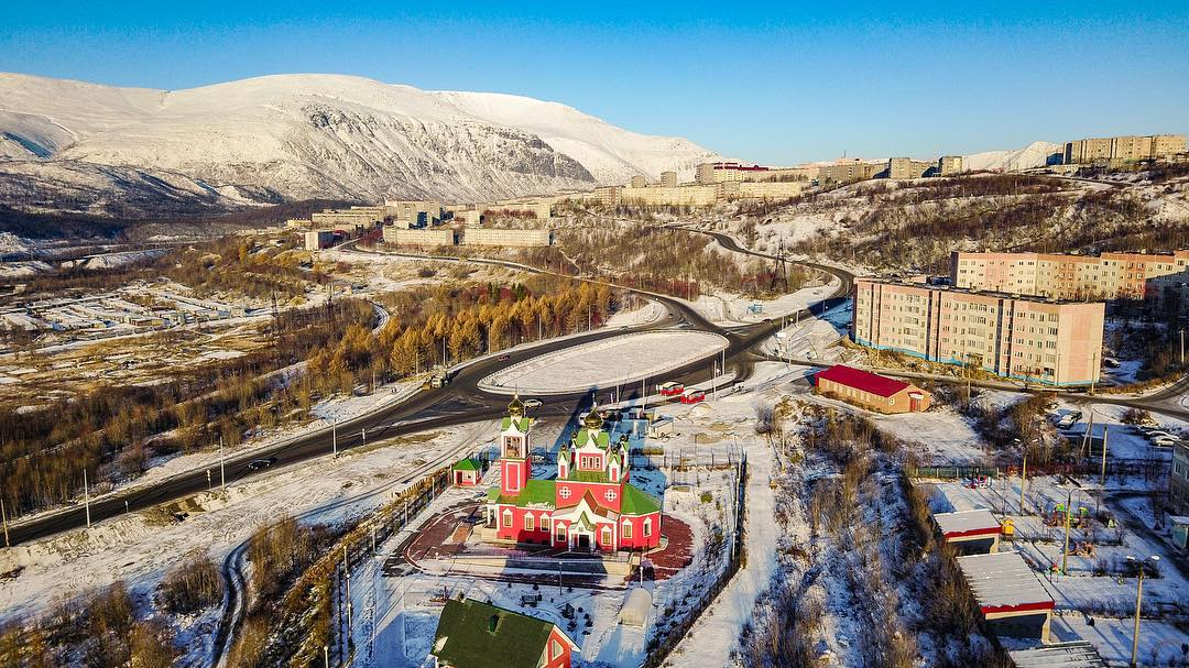 Фотографии города кировска мурманской области