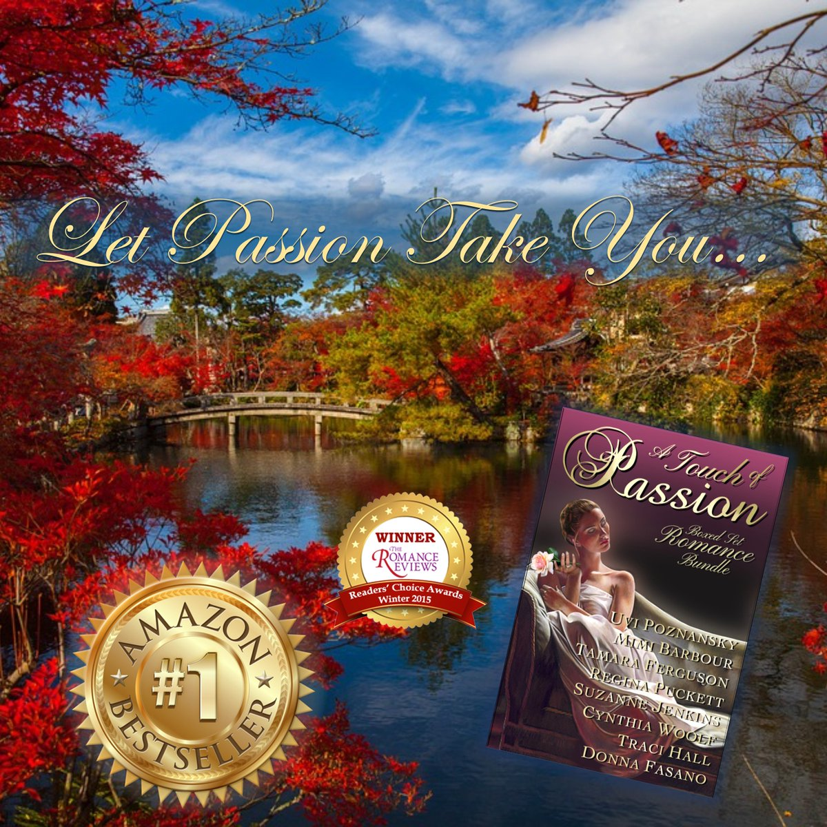 #1 #Holiday #BestSeller on Amazon Let Passion Take YOU A TOUCH OF PASSION IT&#39;S #99c #Atop  http:// BookShow.me/B017DVII20  &nbsp;  <br>http://pic.twitter.com/2s5rF4bU8O