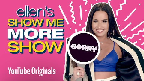 Is @DDLovato sorry? Is she not sorry? #EllenShowMeMore https://t.co/2Jd85fqJH5