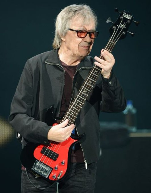 Happy Birthday number 81 to Bill Wyman, formerly of the Rolling Stones!