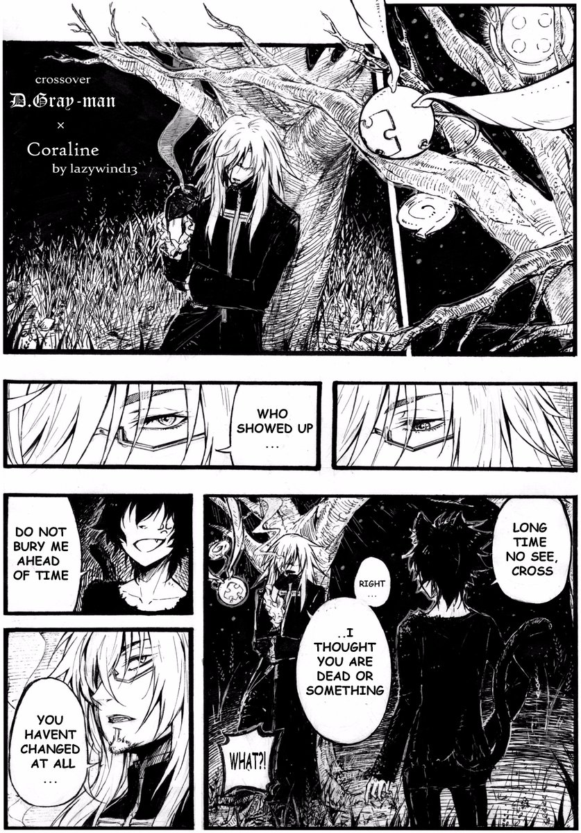 Lazy Wind On Twitter Crossover D Gray Man Coraline You Can Read The 2nd Part On My Tumblr Https T Co Dsrxrouuvb Dgrayman Coraline