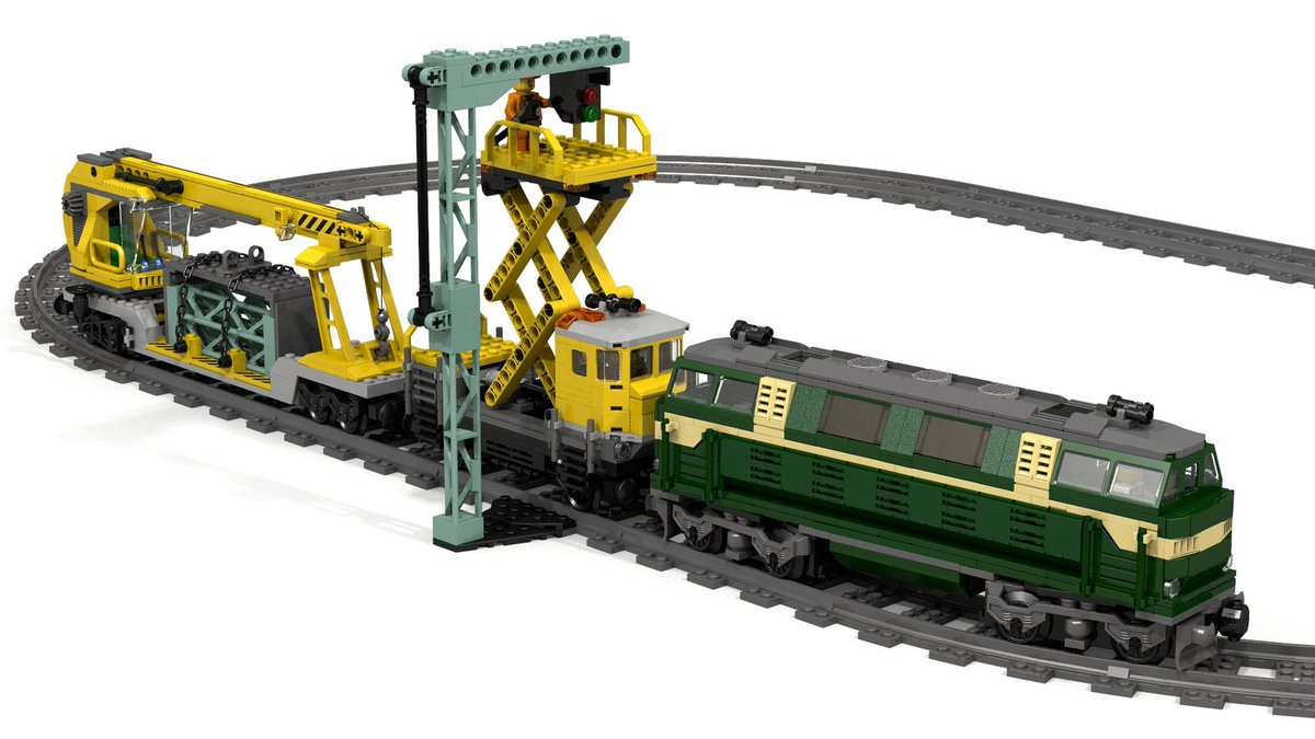 Lego 174 Ideas On Twitter Quot Your Rail Yard Certainly Needs