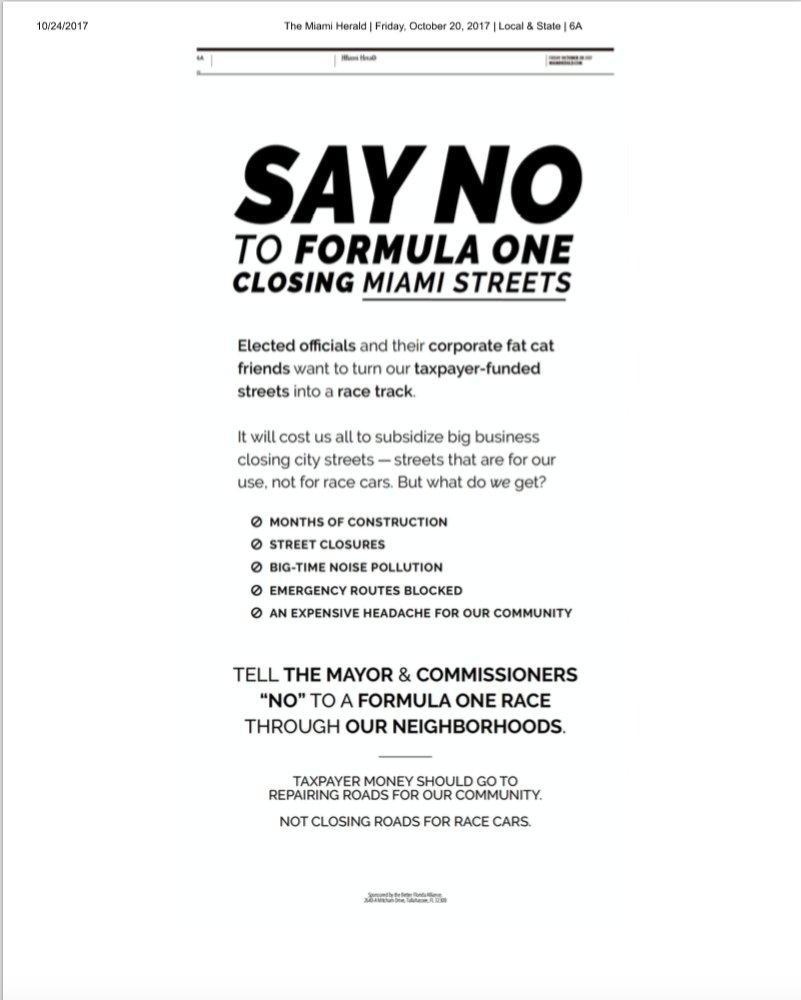 petition liberty media formula 1