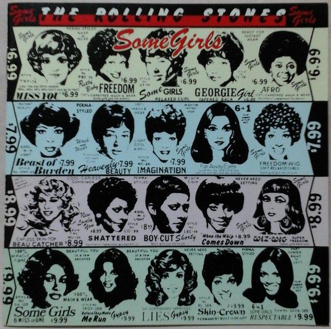 THE ROLLING STONES SOME GIRLS Bill Wyman Happy Birthday!!!