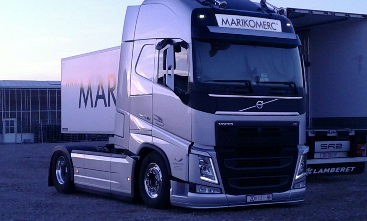 One from 2014 i was so excited to drive fh540 with individual front suspension