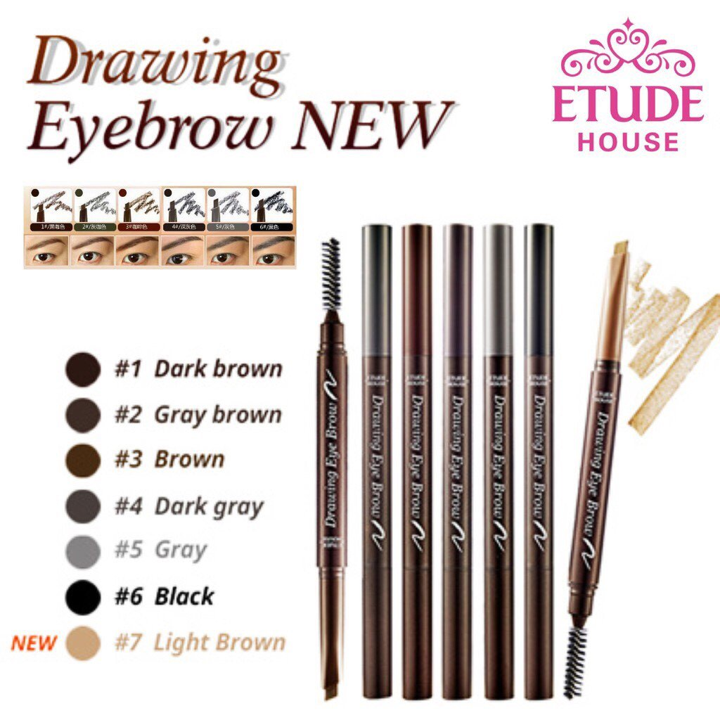Jigaby888 On Twitter Etudehouse Drawing Eyebrow New 69 Etude Pic
