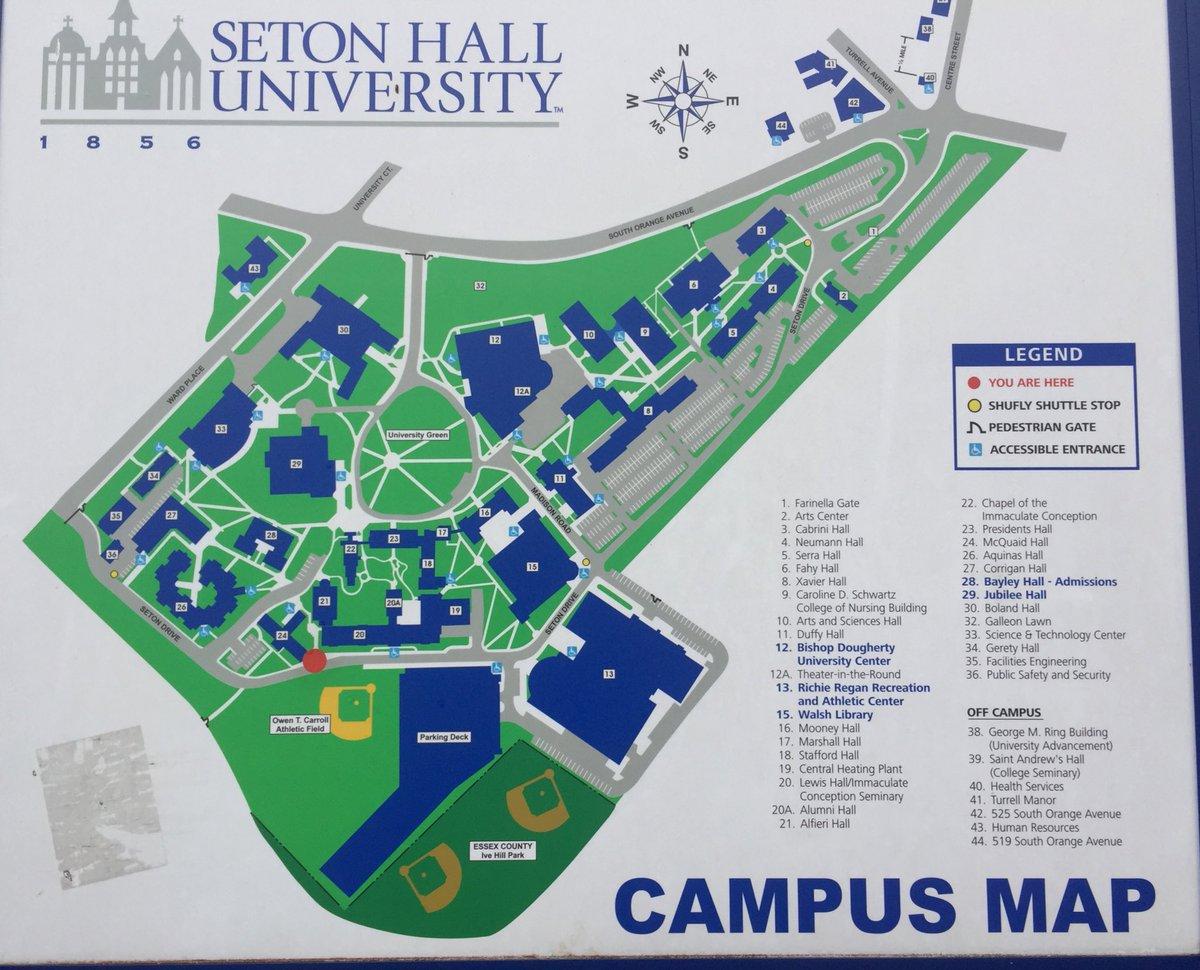 Cabrini College Campus Map.Xavier University Campus Map 7398 Loadtve