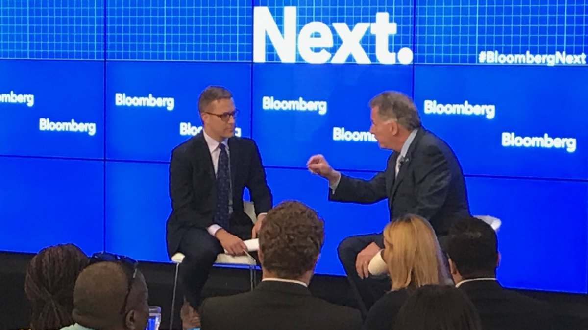 Rhetoric in Washington is hurting job creation, infrastructure, healthcare. States are stepping up to fill void. #BloombergNext <br>http://pic.twitter.com/VKuXJiavNN