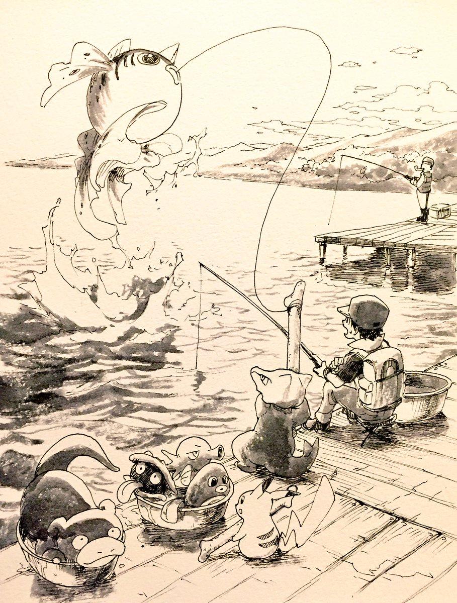 主人より釣りが上手いガラガラ