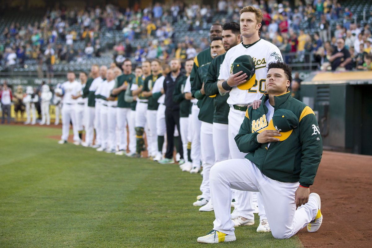 Pro-Trump waiter refuses to serve Oakland A's player https://t.co/YuvfP8MMCK
