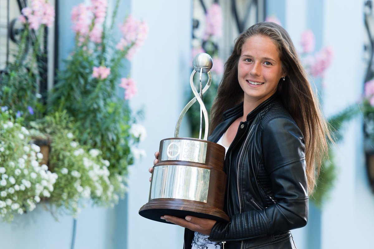 2018 volvo open tennis. fine tennis daria kasatkina to 2018 volvo open tennis