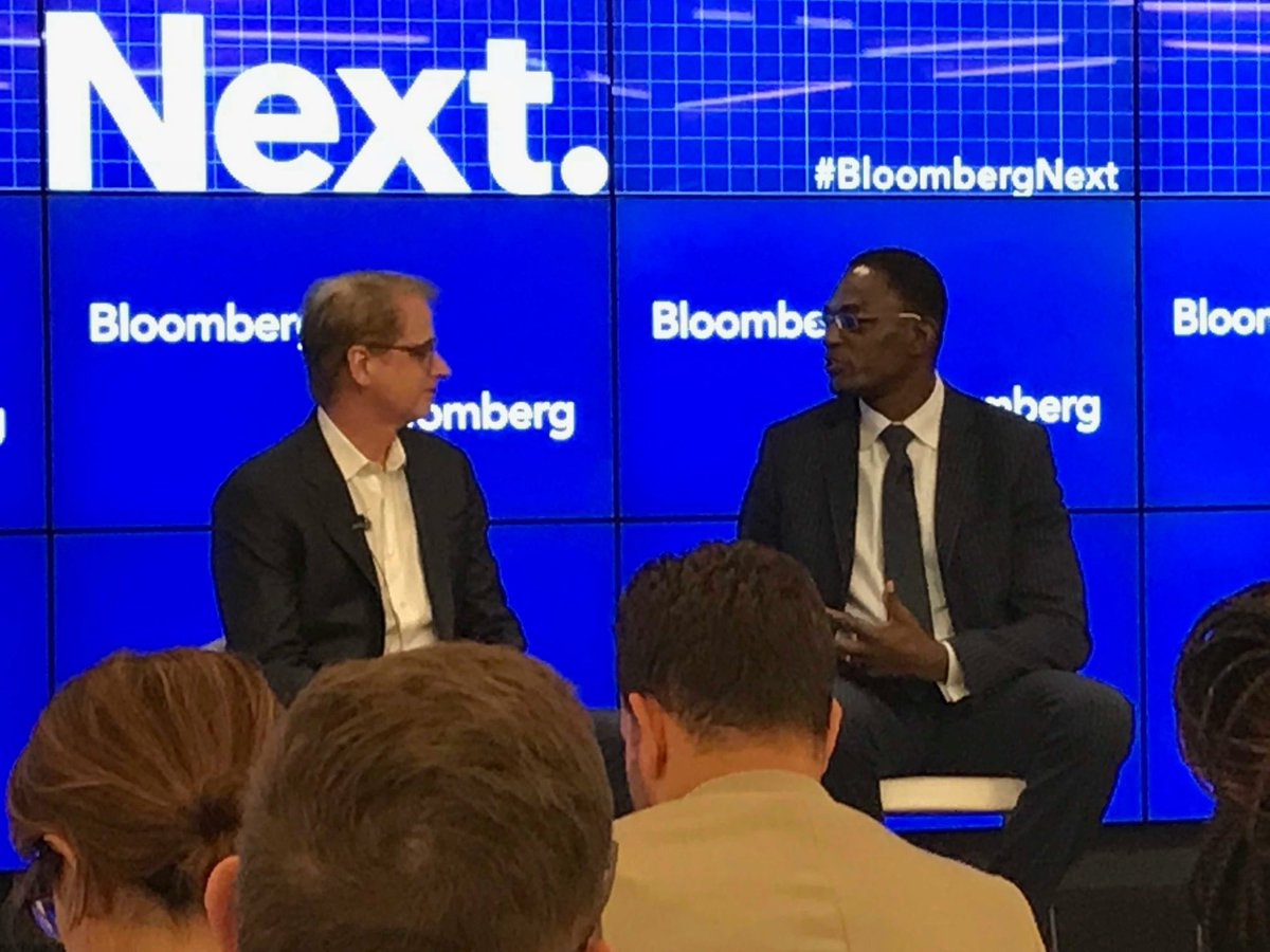 .@IBMWatson head @davidwkenny discussing the need for trust &amp; transparency in #AI w/@ITI_TechTweets' Dean Garfield. #BloombergNext <br>http://pic.twitter.com/PVYKOZCvXQ