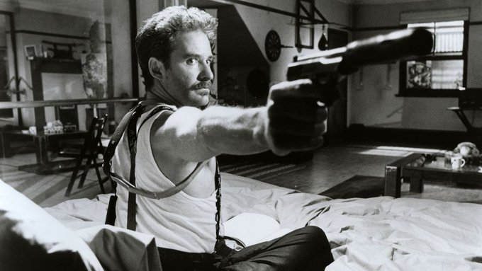 Happy 70th birthday to Kevin Kline. Photo from A Fish Called Wanda, 1988.