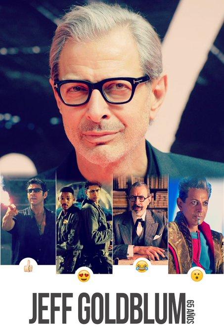 Happy Birthday Jeff Goldblum!  we love him,