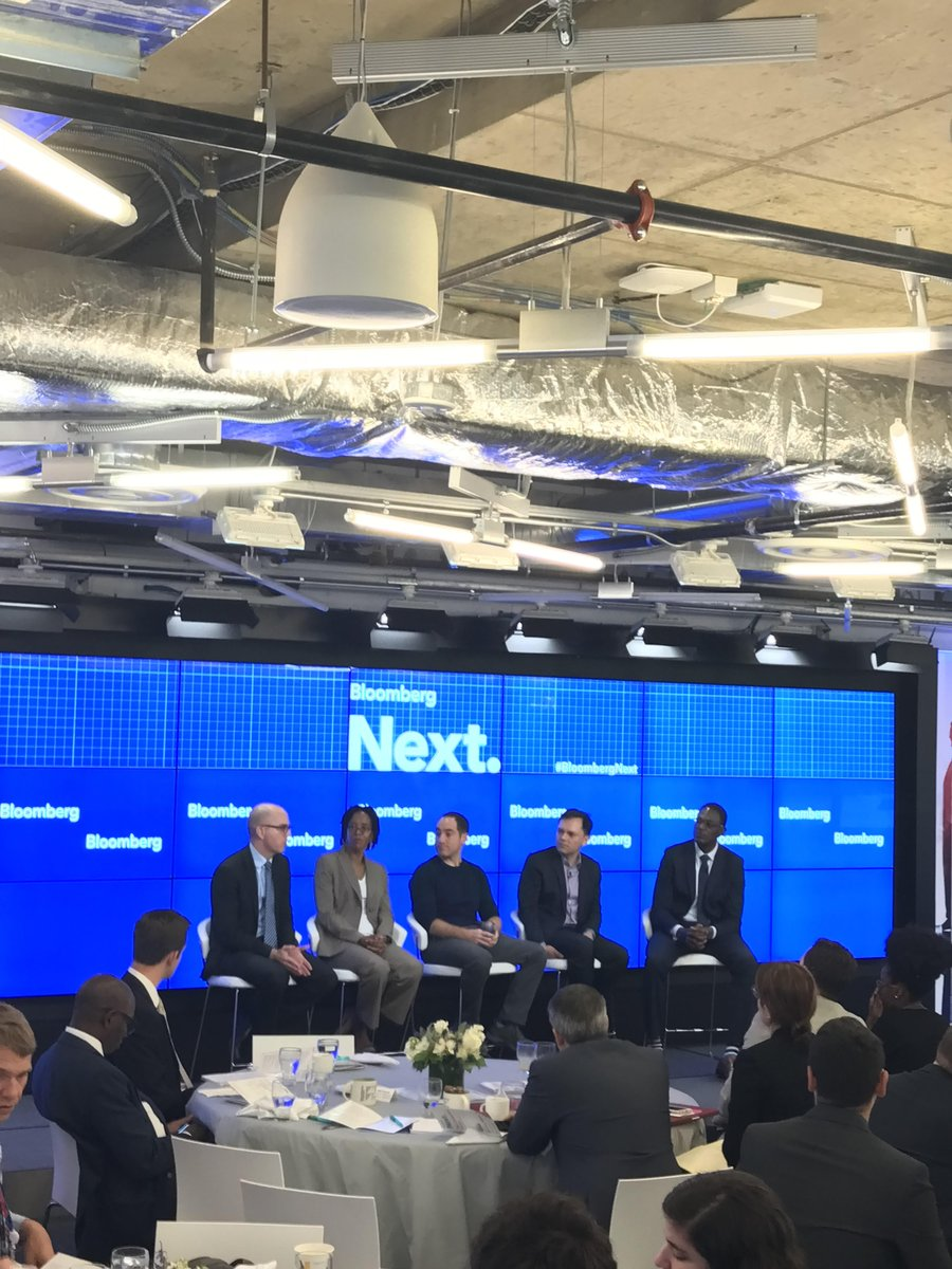 D/IARPA, Jason Matheny, speaking at the #BloombergNext panel on #ArtificialIntelligence in the Real World<br>http://pic.twitter.com/LU56uZekwl