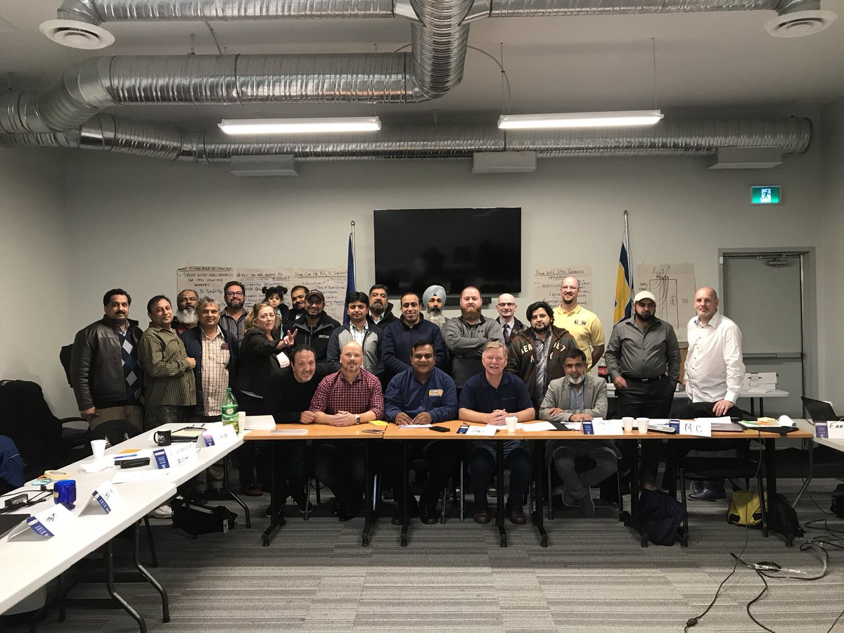 Feeling inspired today working with the new @USW_District_3 Taxi Workers Council #PowerOfUnity <br>http://pic.twitter.com/6encFxEP8r