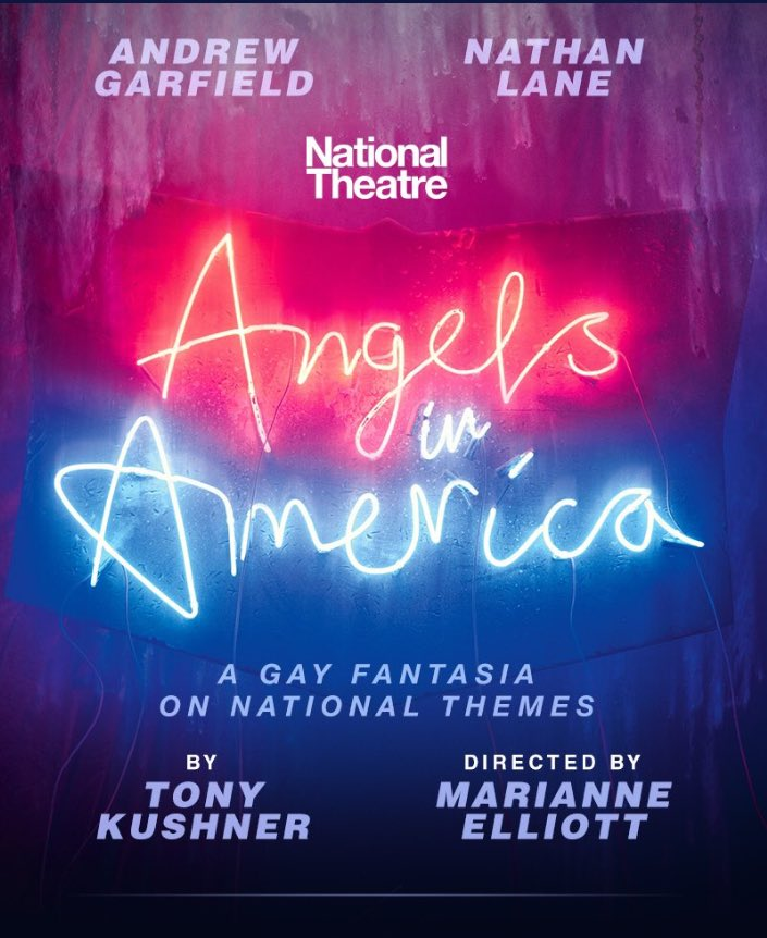 I'm joining the incredible cast of @angelsbway. THE GREAT WORK BEGINS I hope you'll come see. #angelsinamerica