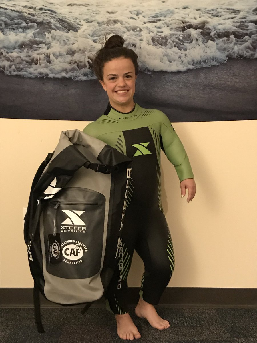 Huge shoutout and thanks to @XTERRAWETSUITS for the custom made wetsuit and sweet dry bag! Thank you! <br>http://pic.twitter.com/VjIy6x0p1a