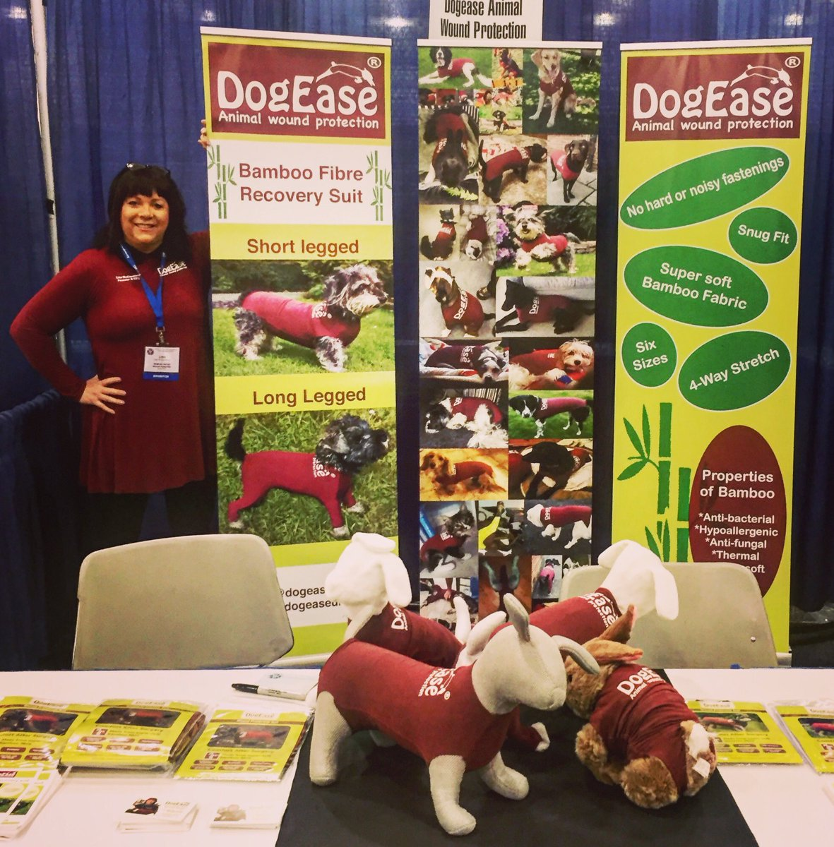 @DogHourNI just finished my conference in #Sandiego #doghourni #dogease #bamboo #dogs #noconezone
