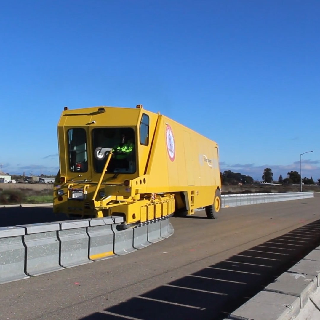 Road Barriers made easy - Here's the Road Zipper! 🚛 #Tech #Traffic #Cool #TuesdayThoughts via @techinsider