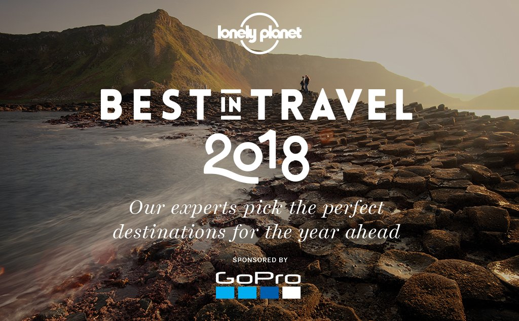 Feast your eyes on our all-new #BestinTravel recommendations for 2018... https://t.co/ACiPs3ejA9 https://t.co/AabcQROxsU