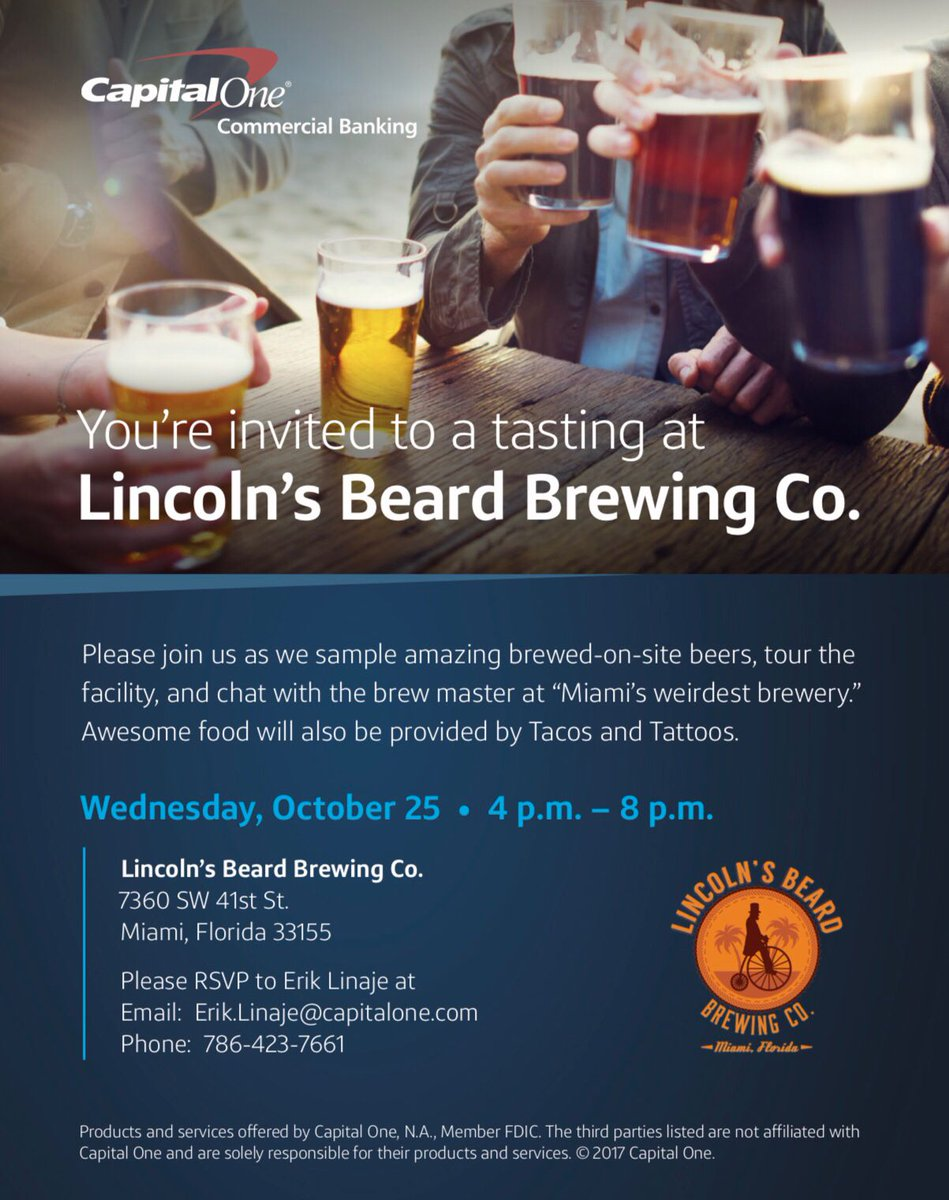 Contact Capital One >> Lba Latin Builders On Twitter Happy Hour Sampling Amazing