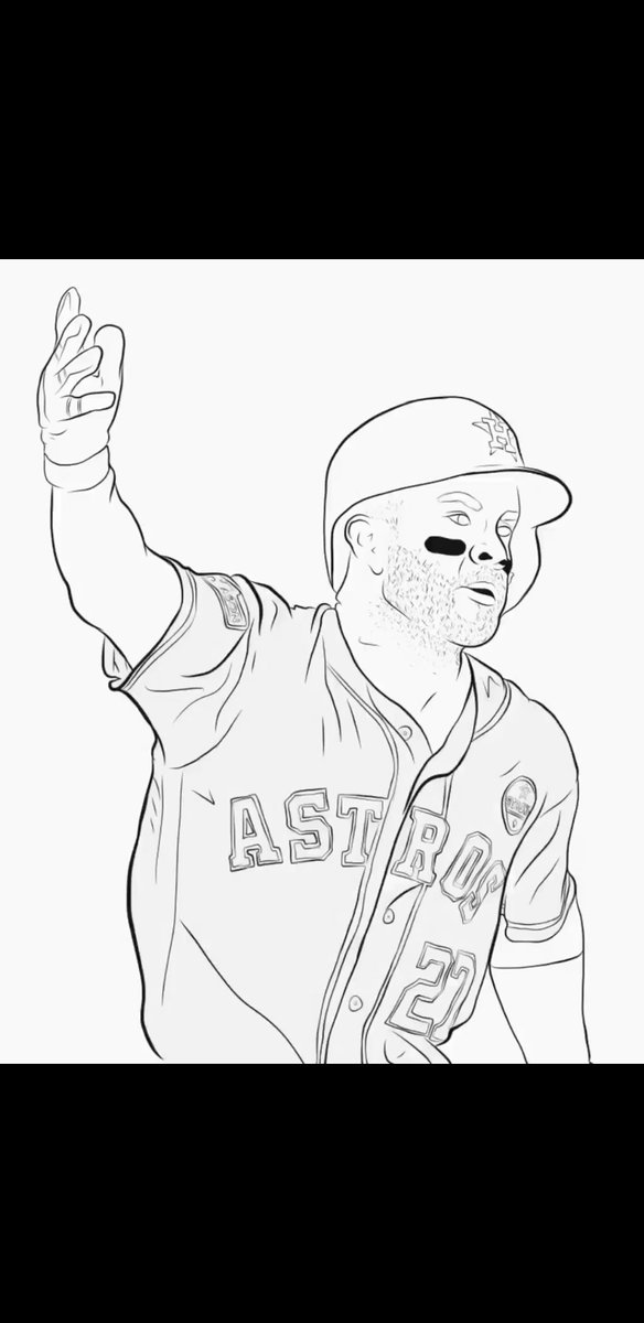"""houston coloring pages   Houston Astros on Twitter: """"It's been a long time coming ..."""