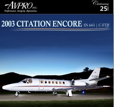 Meticulously Maintained - Citation Encore for sale at @AvproJets See more details at  http:// ow.ly/bL1T30g6tSy  &nbsp;    #bizjet #bizav #aircraft4sale <br>http://pic.twitter.com/voSSVawb2J