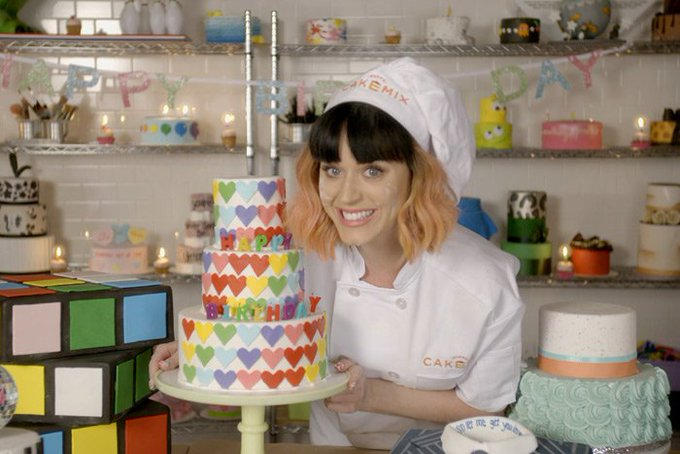 Happy Birthday     Tell us - what\s your favourite Katy Perry music video?
