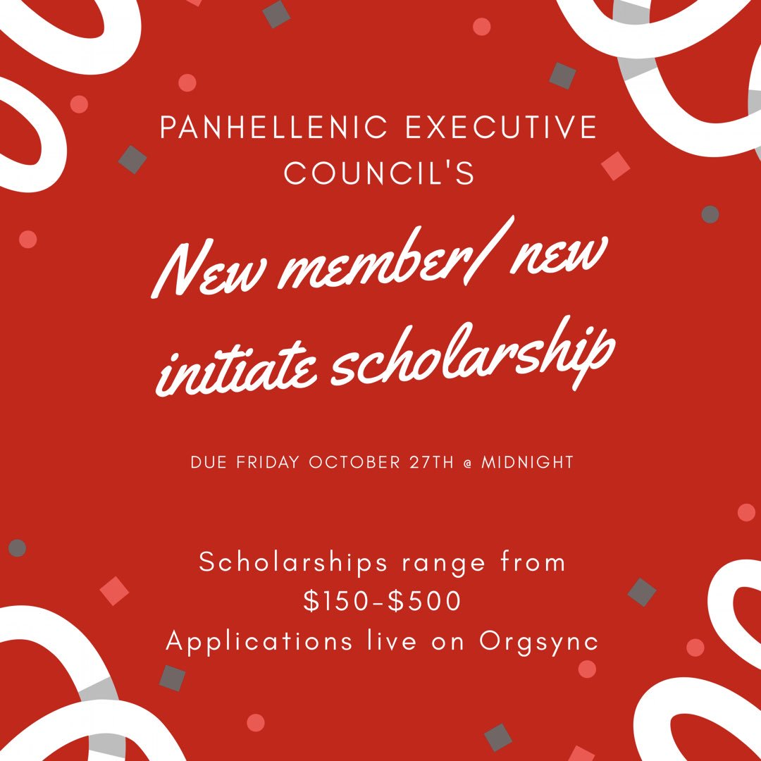 Uc College Panhellenic Council On Twitter Also Dont Forget To