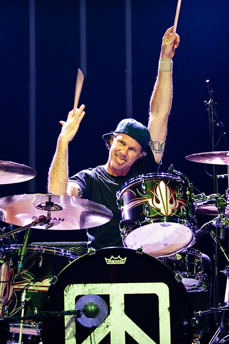 Happy 56th Birthday to Chad Smith!