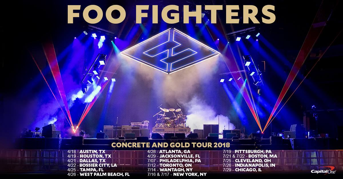 bf269eca CapitalOne Cardholders - pre-sale details for the Concrete and Gold Tour  are here. Check em: https://foofighters.com/capitalone/  pic.twitter.com/OHn72bco5f