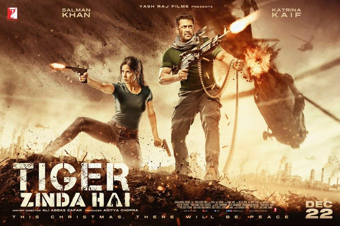 Tiger is Back ! #TigerZindaHai @TigerZindaHai https://t.co/8AeTL2vtR5