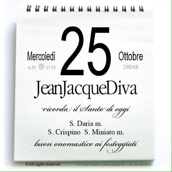 Onomastici Calendario.Jeanjacquediva On Twitter Calendario Santi