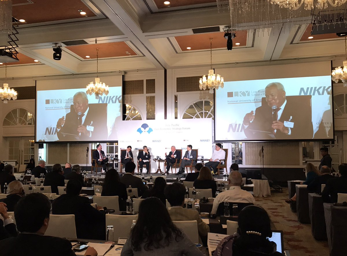 US ABC On Twitter Proud To Be A Supporter Of The Ongoing Asia Pacific Geo Economic Strategy Forum Hosted By CSIS LKYSch NAR Tco JUiVSzwUwu